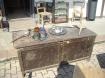 Cassapanca rustica da restaurare