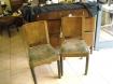 Due di otto sedie Deco' noce
