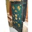 Armadietto antico  dipinto e decorato ad un' anta